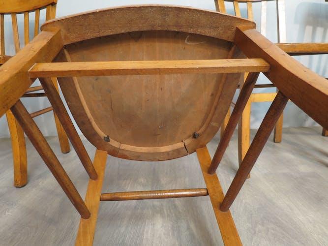 Set de 4 chaises bistrot