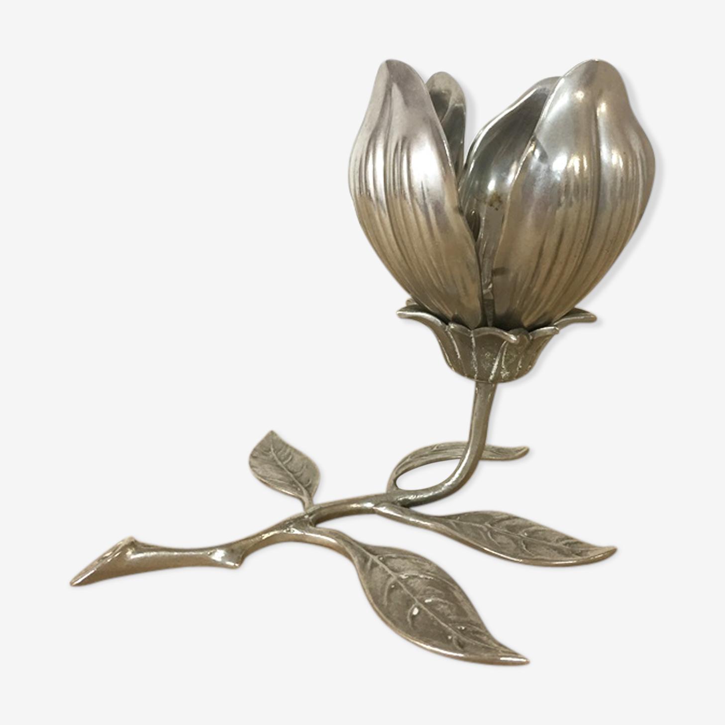 Cendrier fleur lotus 1970