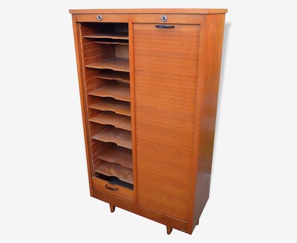 classeur de bureau bois mat riau bois couleur. Black Bedroom Furniture Sets. Home Design Ideas