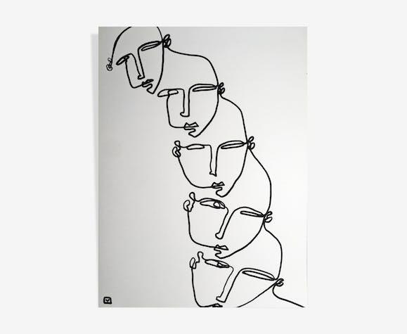 "Illustration ""Croquis #1"""