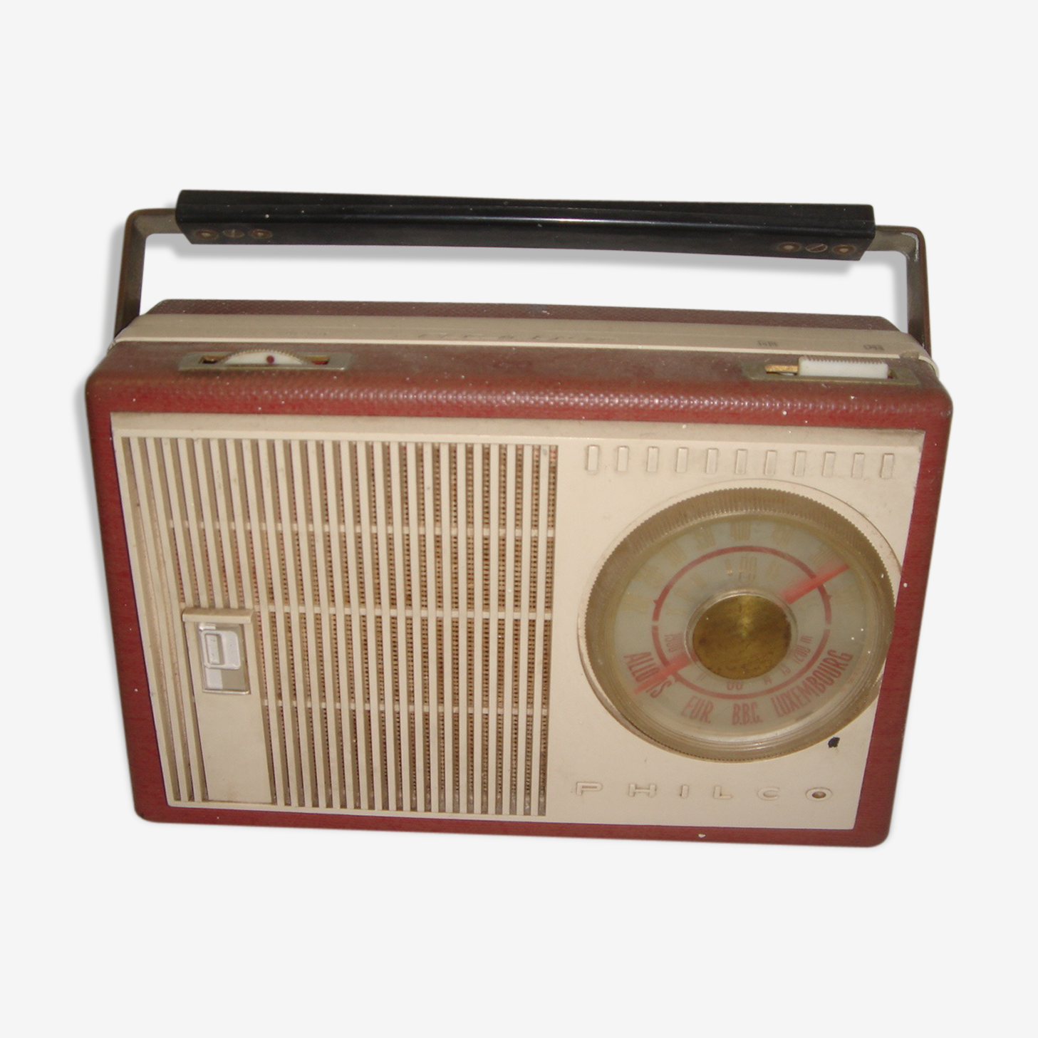 Poste radio Philco Harlem de 1960