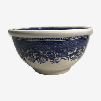 Ancien saladier willow sarreguemines céramique chinoise