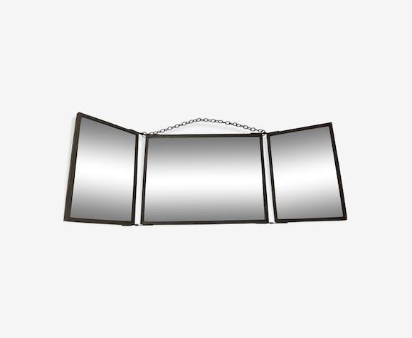 Miroir triptyque illustration - 42x15cm