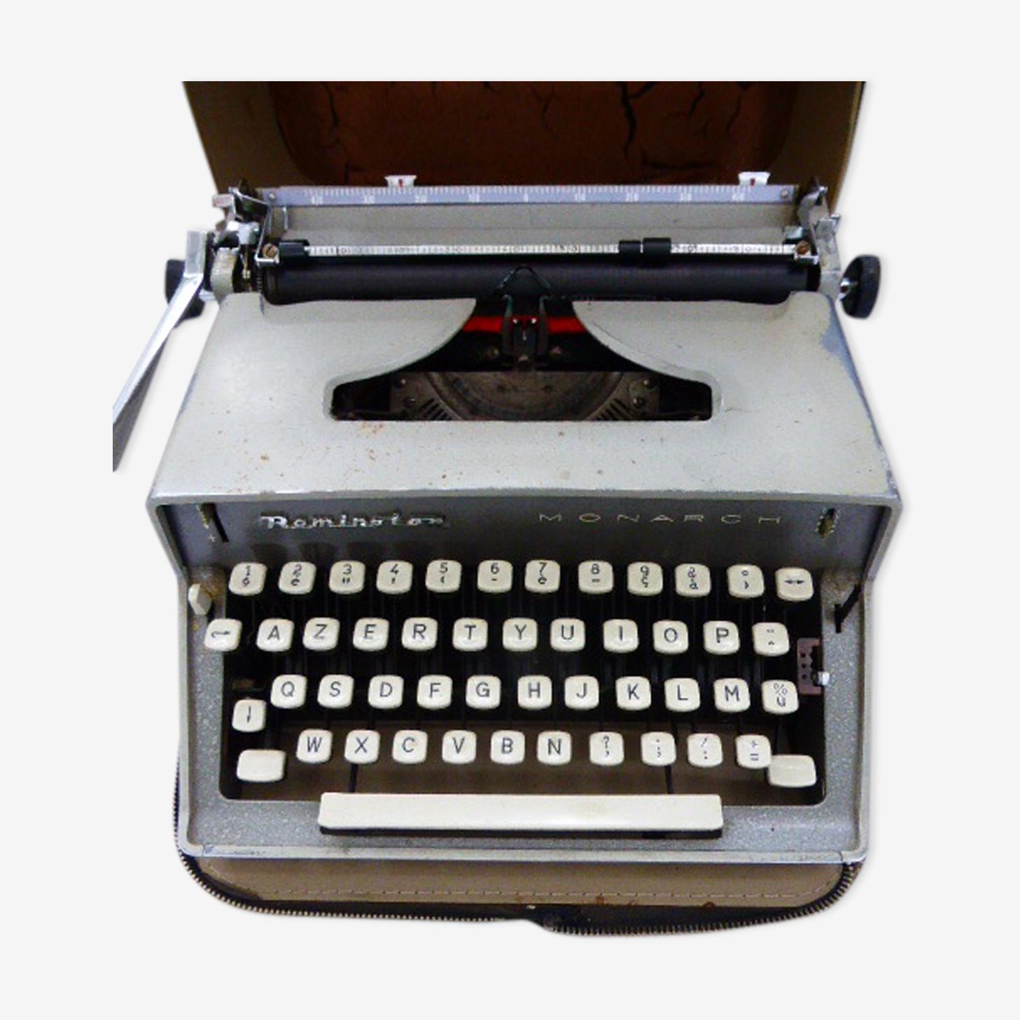 Machine a écrire Monarch de Remington années 60