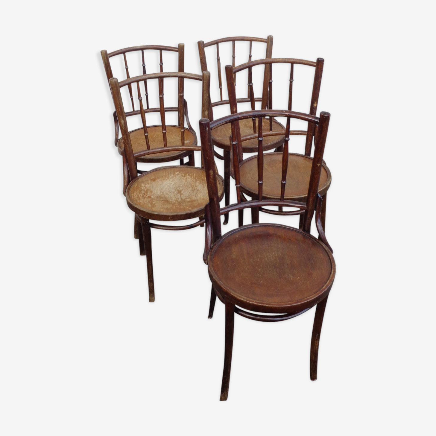 Set of bistro chairs