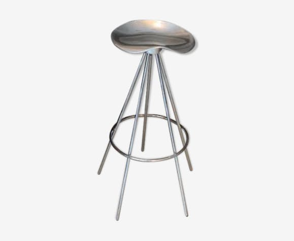 Jamaica aluminum stool by Pepe Cortes for Amat