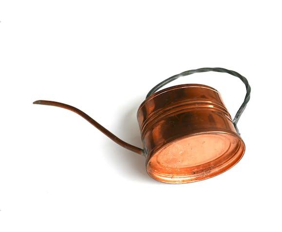 Arrosoir en cuivre, années 60