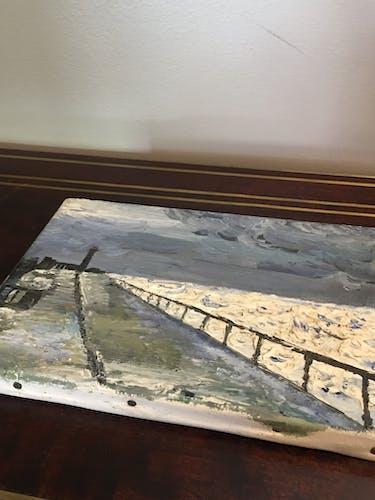 Peinture bord de mer