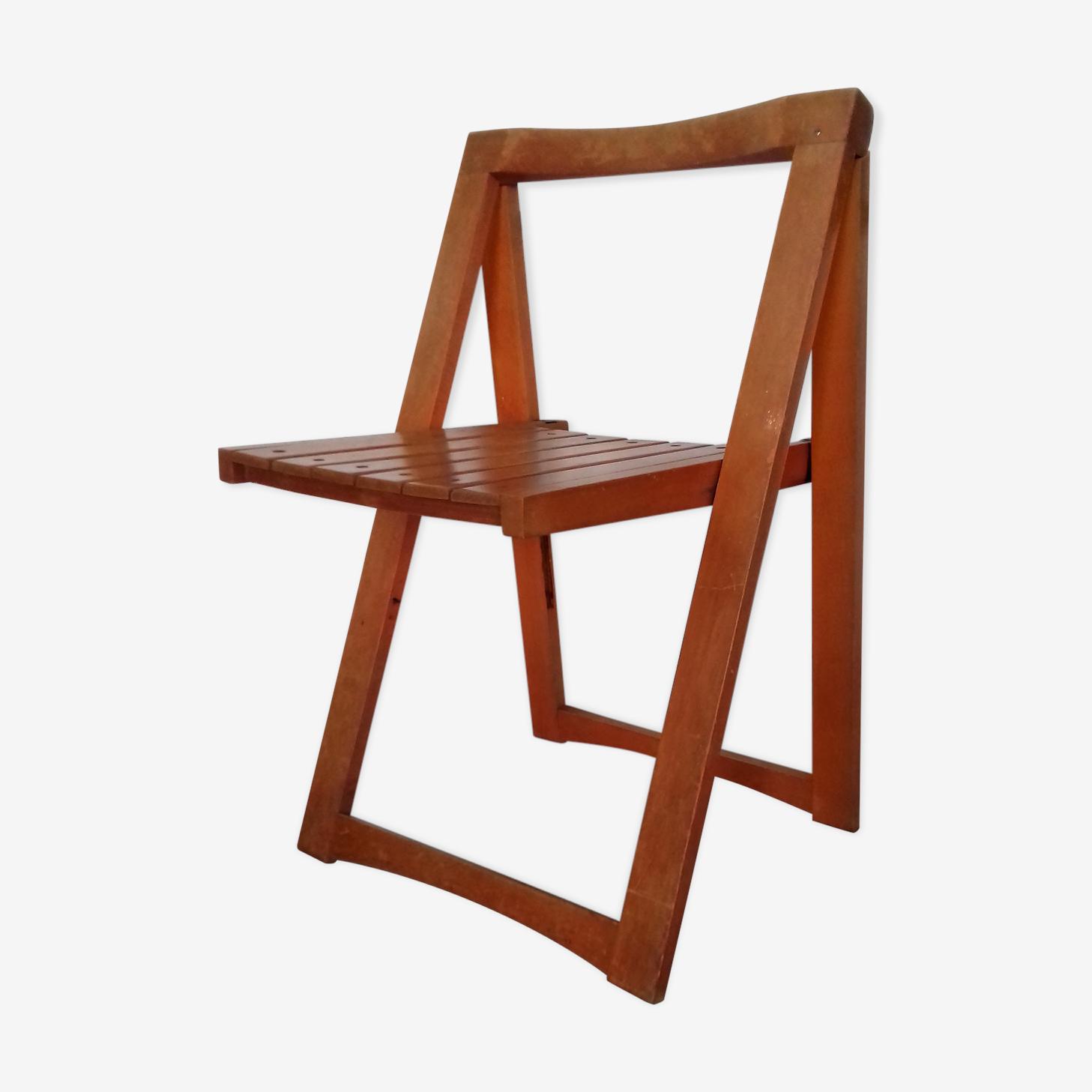 Chaise pliante d'Aldo Jacober années 60-70