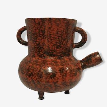 Vase tripode Vallauris