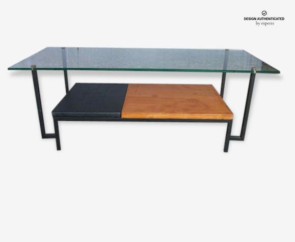 Basse Glass Transparent Frydman And Crystal Table Georges xCBdoe