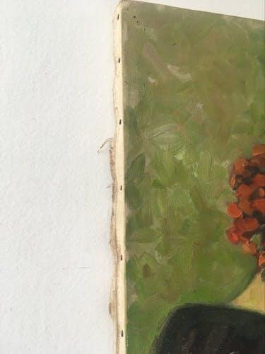 Peinture huile sur toile