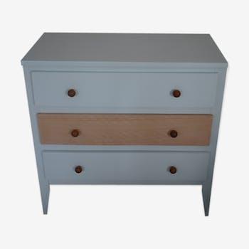 Green vintage Dresser and wood