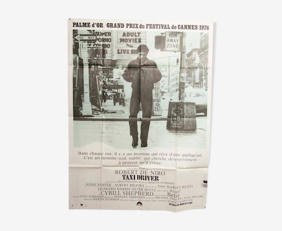 "Affiche originale 160x120 ""taxi driver"" robert de niro martin scorcese 1976"