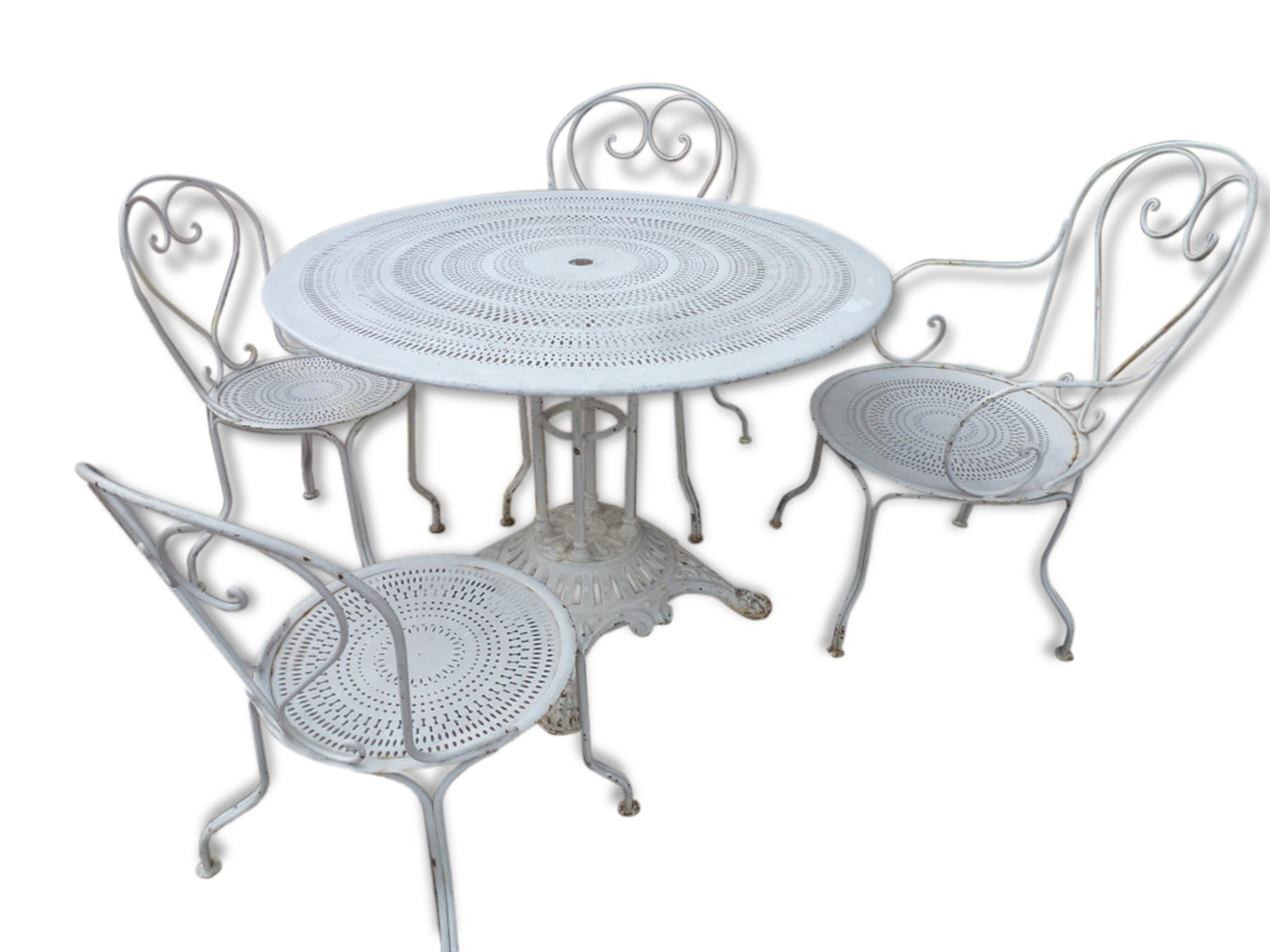 Beautiful table de jardin a l ancienne photos amazing for Table de salon ancienne