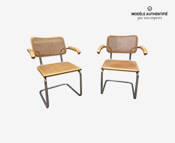 Paire de fauteuils Marcel Breuer