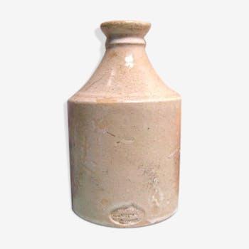 Ancient sandstone bottle