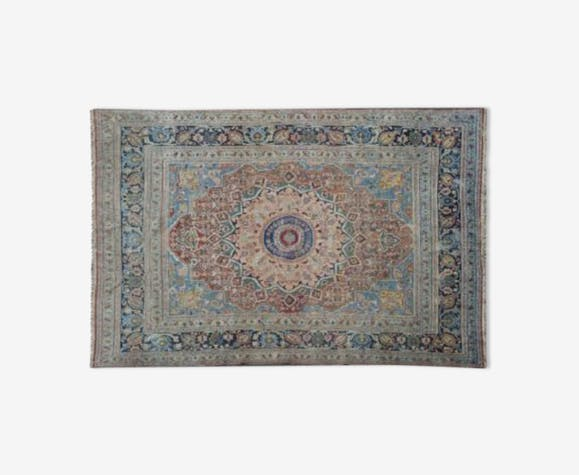 Tapis Iran 264 X 440 Cm Laine Coton Multicolore Ethnique Do1d6tk