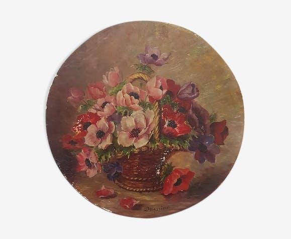 2 tableaux du 19 ème siècle, signés Antonio Dagnino