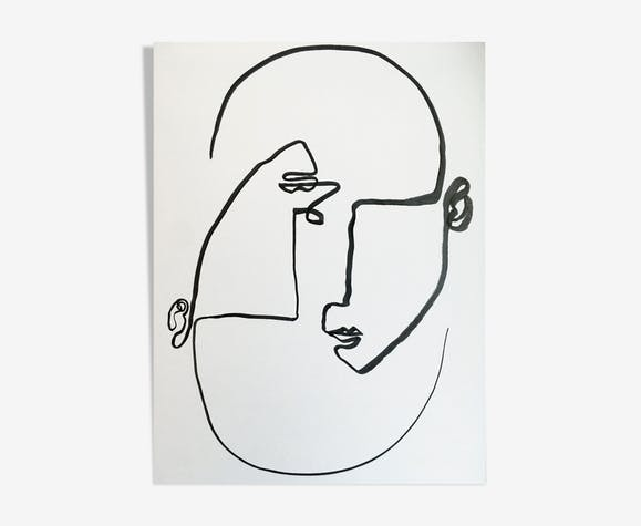"""Illustration """"Les autres #2"""""""