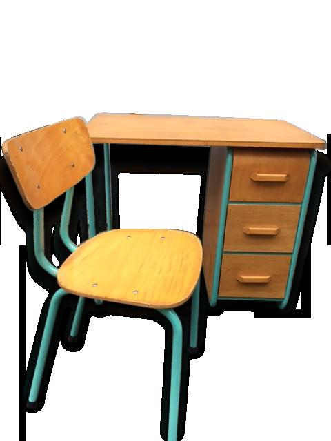 Bureau enfant bois bureau enfant vintage et sa chaise with bureau