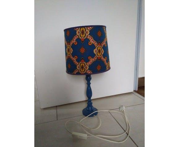Lampe bleue vintage