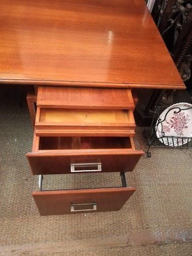 Bureau vintage Atlar en acajou