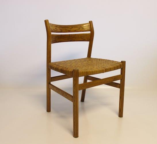 Ensemble de quatre chaises, années 60
