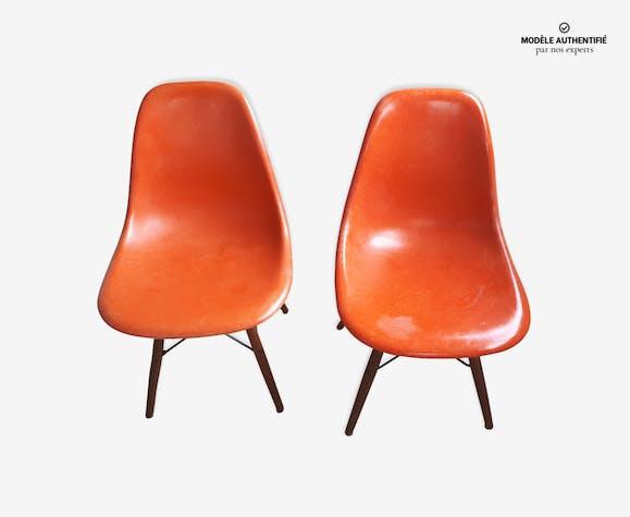 Paire de chaises DSW de Charles et Ray Eames