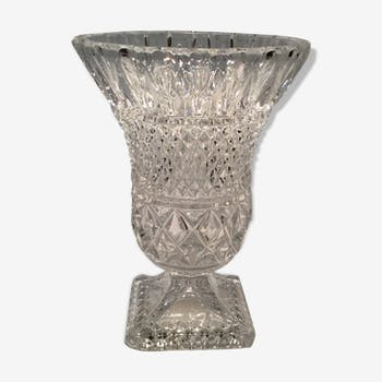 Vase Médicis cristal