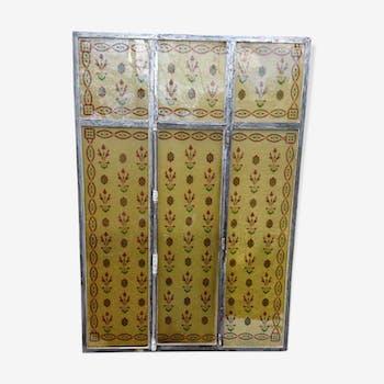 Fronton Vintage Doccasion Porte Ancienne SELENCY - Porte placard coulissante avec porte de cave blindée prix