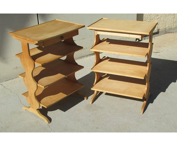 Pair of consoles, occasional tables, office