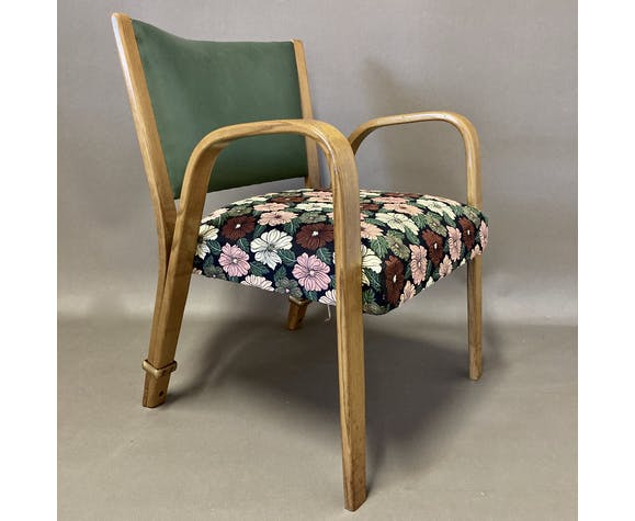Fauteuil Bow Wood Steiner 1950