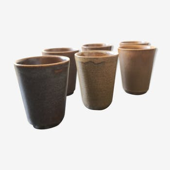 Old sandstone Digoin x 6 cups