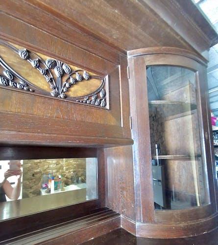 Buffet Ecole de Nancy Art Nouveau