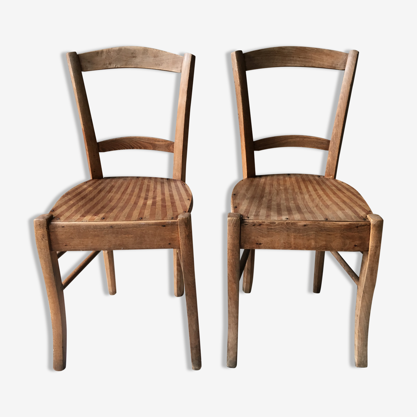 Lot de 2 chaises bistrot