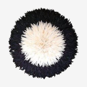 Juju hat noir et blanc 60cm