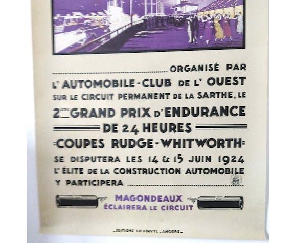 24-hour le Mans Automobiles 1994 poster