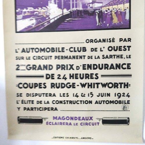 Affiche 24h du Mans Automobiles 1994
