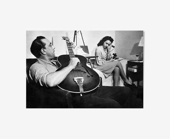 Django Reinhardt, inventor of jazz on strings