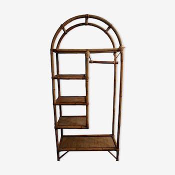 Shelf / closet rattan