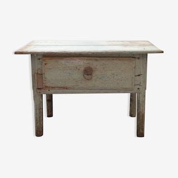 Table basse avec plateau en c ramique c ramique - Table basse peinte ...