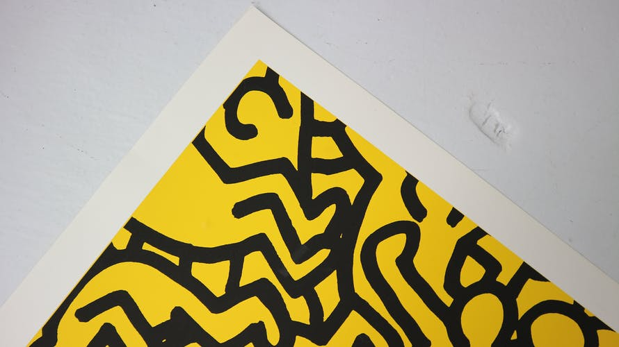 """Special Edition Poster by Keith Haring """"Playboy KH86,"""" 1990"""