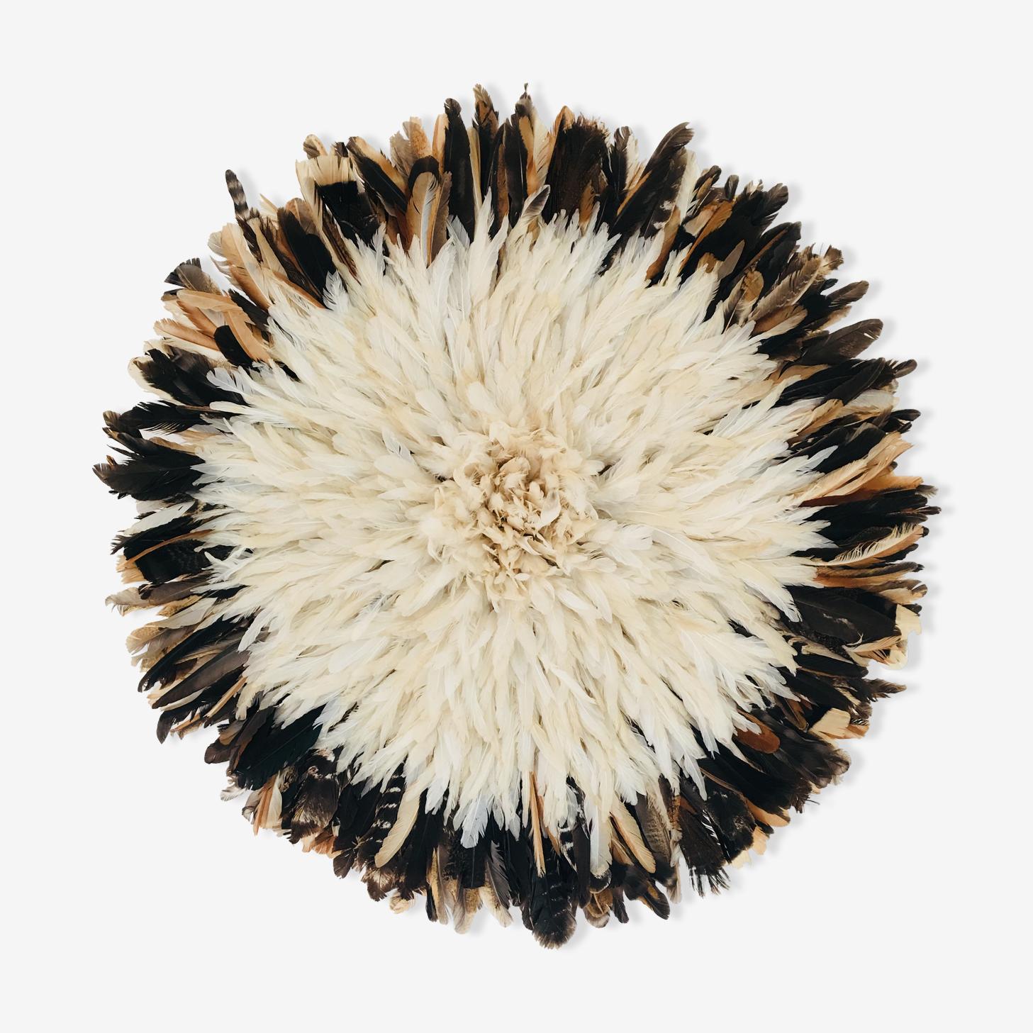 Juju Hat blanc noir 80 cm