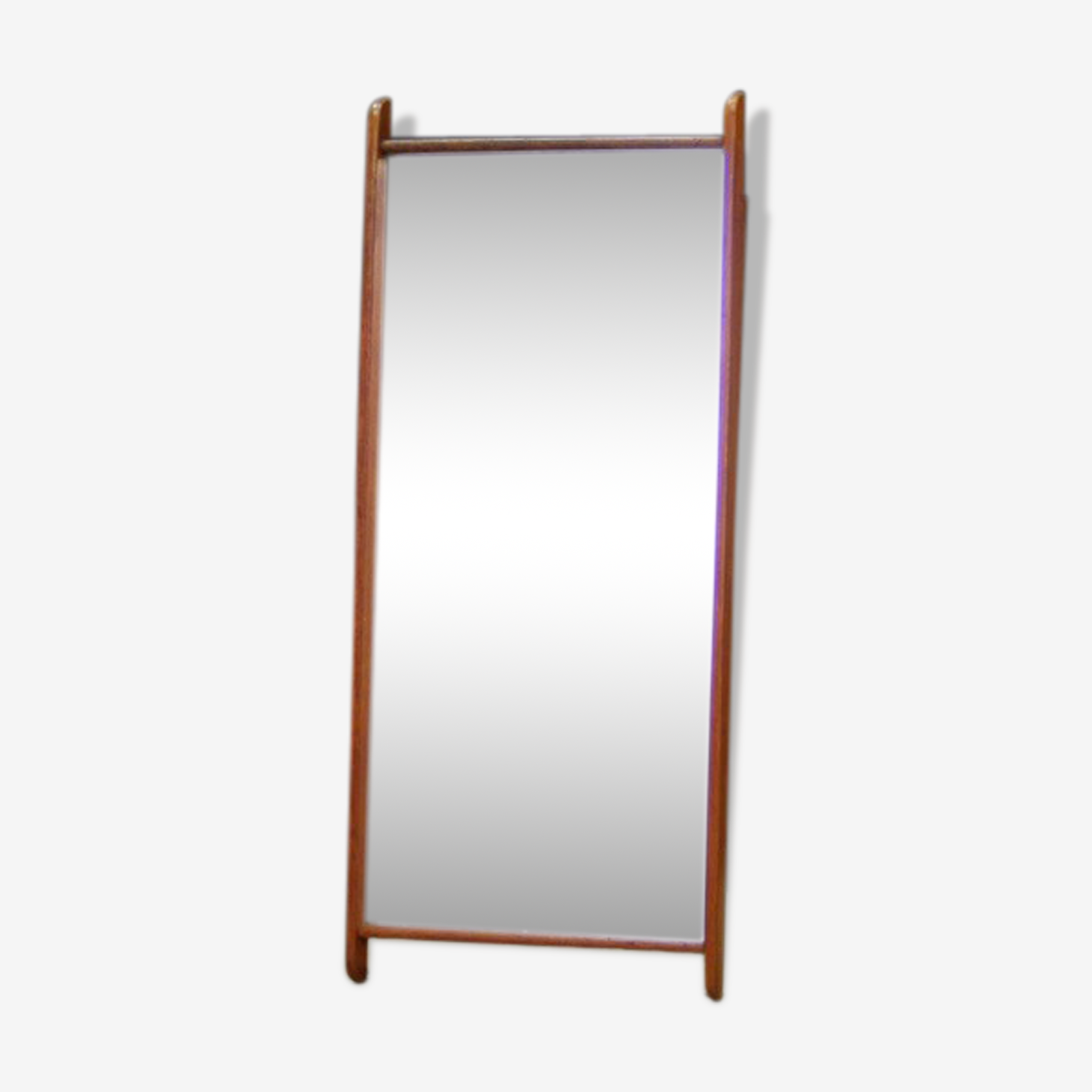 Miroir design danois 60's 95x40cm