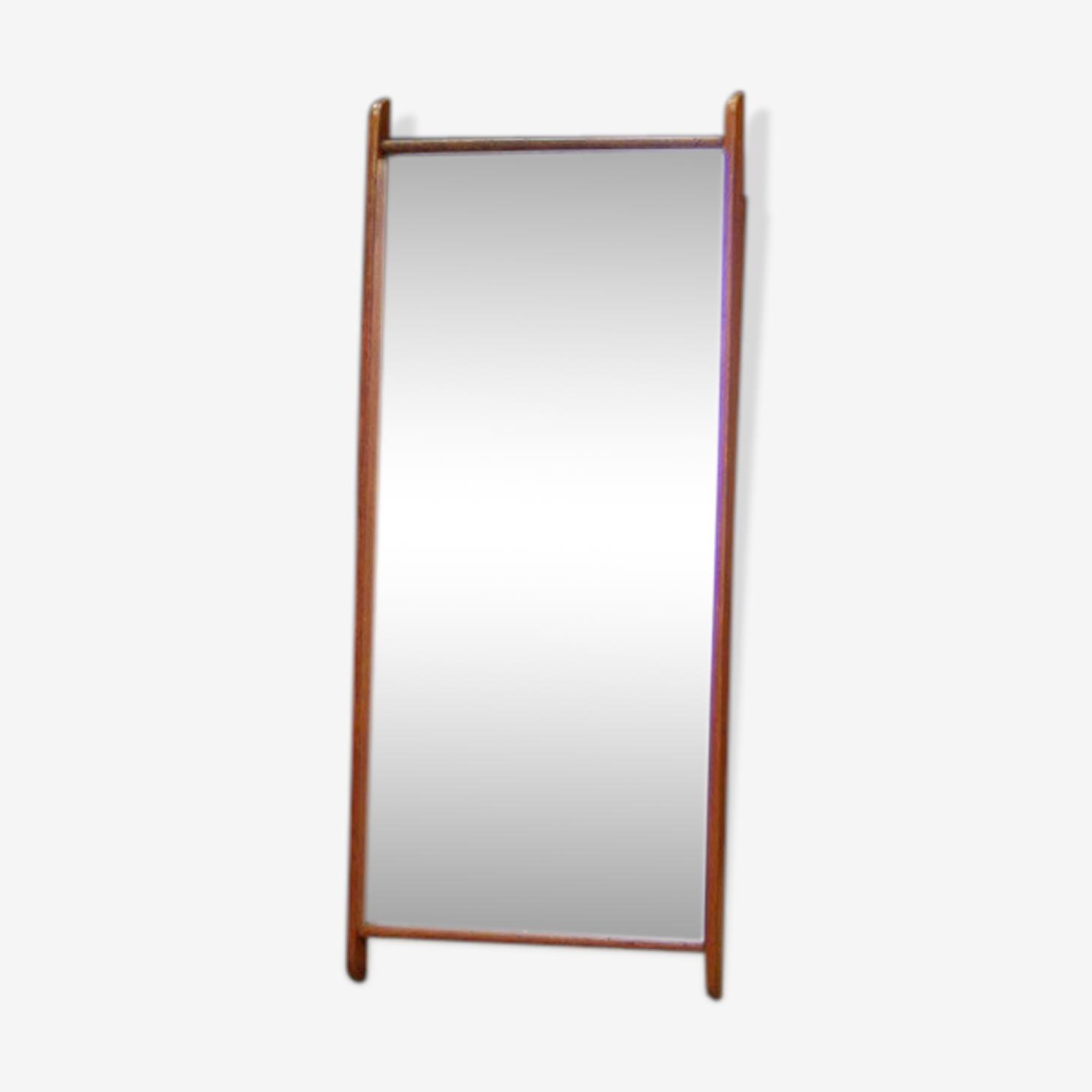 Mirror 60/70 danish design retro 95x40cm