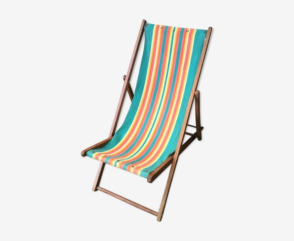 Chaise longue vintage 50's