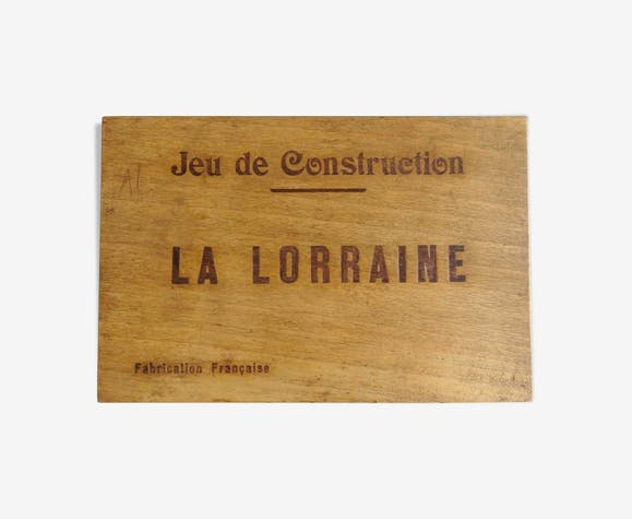 Jeu de construction La Lorraine ancien