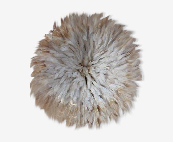 Juju hat bicolore blanc naturel 75 cm