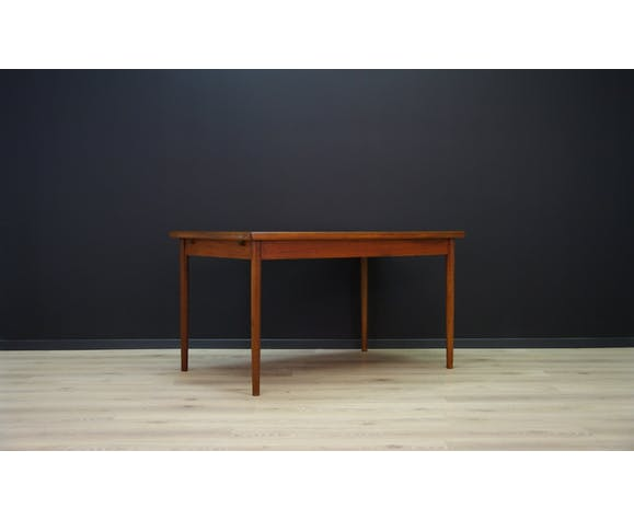 Table danoise en teck